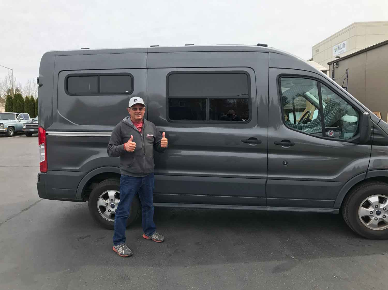 Ford Transit Van Aftermarket Conversion Windows Motion