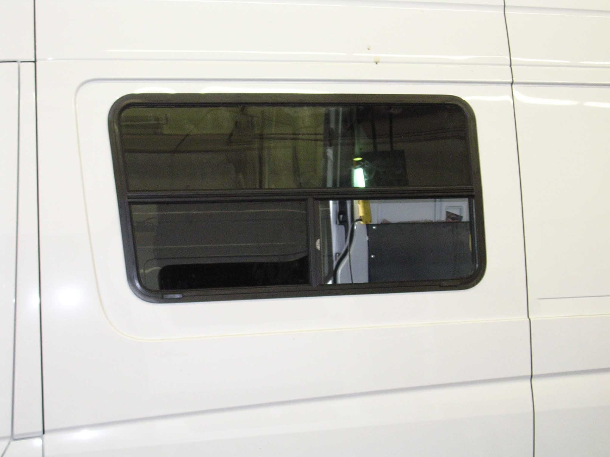 Van Conversion Window Install