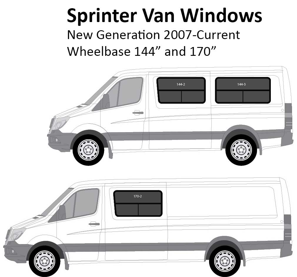 Sprinter Van Conversion Windows New Generation 2007 Current