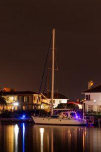 boat dock lights